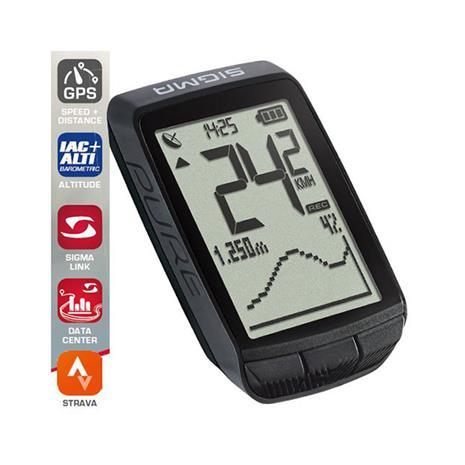 SIGMA SPORT Pure GPS ajotietokone , musta