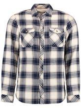 O'Neill Violator Flannel Shirt LS white aop / valkoinen Miehet