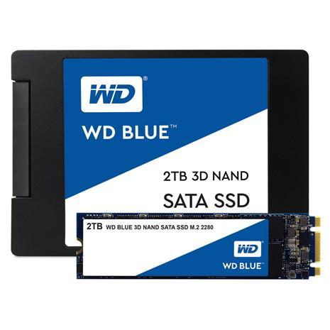 "WD Blue 3D NAND SATA SSD (500 GB, 2.5"") WDS500G2B0A, SSD-kovalevy"