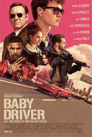 Baby Driver (2017, Blu-Ray), elokuva