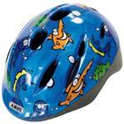 ABUS Bundle Smooty lasten pyöräilykypärä M + sadesuoja, ocean