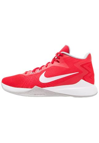 Nike Performance ZOOM EVIDENCE Koripallokengät university red/white/wolf grey