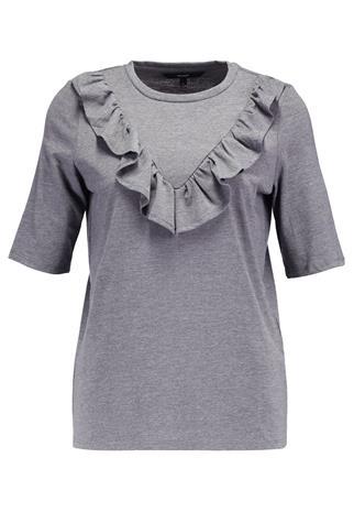 Vero Moda VMJEMIA Printtipaita medium grey melange