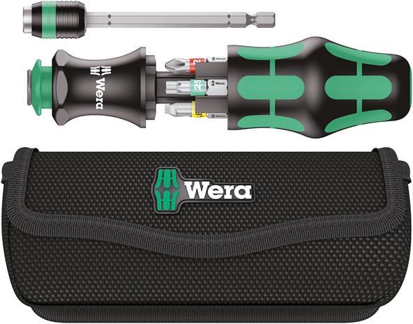 Wera Kraftform Kompakt 20 Tool Finder 1 (05051016001), ruuvinväännin kärkisarjalla