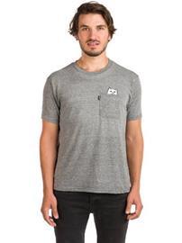 Rip N Dip Lord Nermal Pocket T-paita grey / harmaa Miehet
