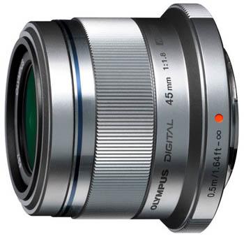 Olympus M.Zuiko Digital 45mm f/1.8 (ET-M4518), objektiivi