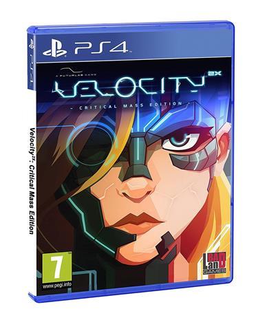 Velocity 2X: Critical Mass Edition, PS4 -peli