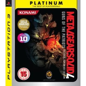 Metal Gear Solid 4: Guns of the Patriots, PS3-peli