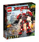 Lego Ninjago Movie 70615, Tulirobotti