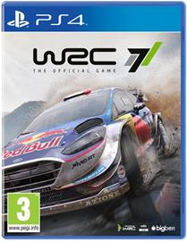 WRC 7 World Rally Championship, PS4-peli
