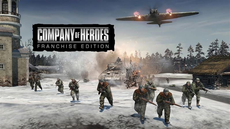 Company of Heroes Franchise Edition, PC -peli