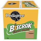 Pedigree Biscrok Gravy Bones Biscuits Dog Treats 10 kg - Chicken