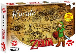 The Legend of Zelda Hyrule, palapeli, 500 palaa