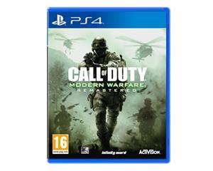 Call of Duty: Modern Warfare, PS4-peli