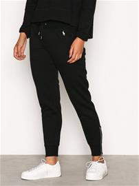 Polo Ralph Lauren Zip Straight Pant Housut & Shortsit Black