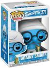 """Smurffit """"Schlaubischlumpf (Brainy) Vinyl Figure 271"""""""
