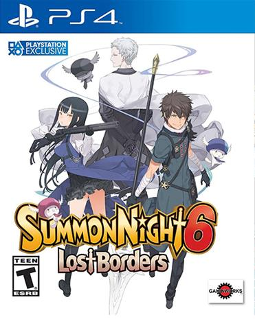 Summon Night 6: Lost Borders, PS4-peli