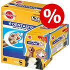 Kuukausipakkaus: 28 Pedigree DentaStix + 9 Pedigree DentaFlex erikoishintaan! - suurille koirille