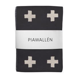 Pia Wallen Cross blanket huopa pieni musta