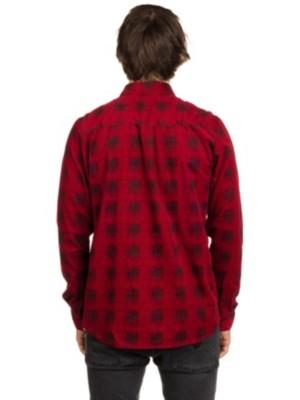 Maxwell Shirt LS true red Miehet