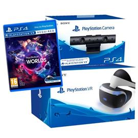 Sony Playstation VR-paketti, PS4 -peliohjain + peli