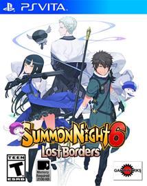 Summon Night 6: Lost Borders, PS Vita -peli