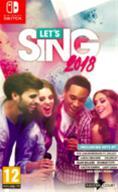 Let's Sing 2018 + 2 mikrofonia, Nintendo Switch -peli