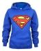 DC Comics Superman Logo Ylivedettävä Huppari koko S