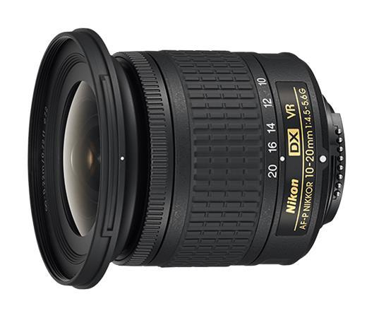 Nikon AF-P DX NIKKOR 10-20mm f/4.5-5.6G VR, objektiivi