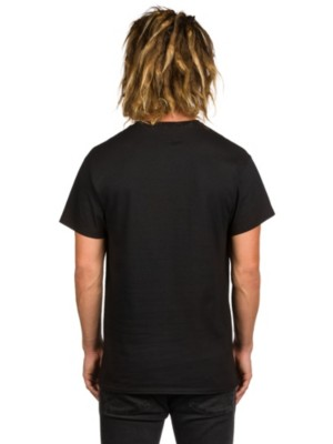 Empyre Rose Embroidery T-Shirt black Miehet