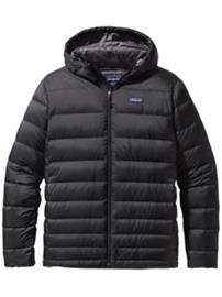 Patagonia Hi-Loft Down Hoody Jacket black Miehet