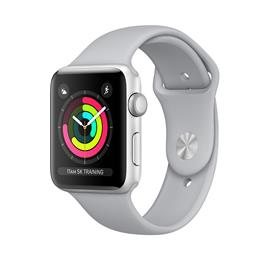 Apple Watch Series 3 38mm (Sport Band, alumiinikuori), älykello