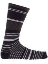 Zine Traveler Socks grey / navy stripe Miehet