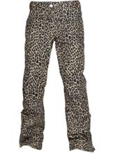 Wear Colour Stamp Pants camel leo Naiset