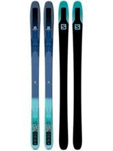 Salomon Qst Lux 92 177 2017 dark blue / green Naiset