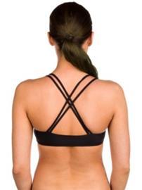 O'Neill Reversible Strappy Bikini Top black aop w / white 1 Naiset