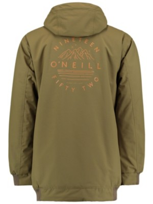 O'Neill Decode Hybrid Jacket dark olive Miehet