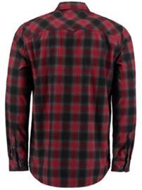 O'Neill Violator Flannel Shirt LS red aop w / white Miehet