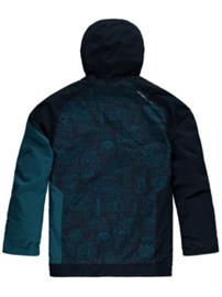 O'Neill Grid Jacket Boys blue aop w / blue Jätkät