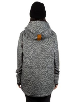 Wear Colour Recruit Anorak Jacket grey leo Naiset