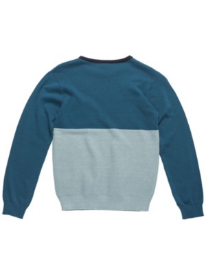 Rip Curl Colorblocking Sweater Boys indian teal Jätkät