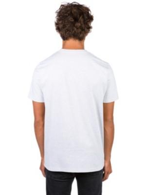 Carhartt WIP College T-Shirt ash heather / damson Miehet