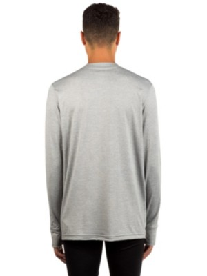 Burton Midweight Crew Tech Shirt LS monument heather Miehet