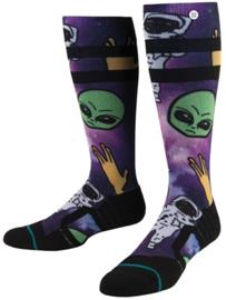 Stance Space Out All Mountain Tech Socks purple Miehet