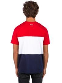 Fila Day T-Shirt black iris / hight risk red Miehet