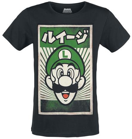 Nintendo Super Mario Propaganda Luigi, t-paita