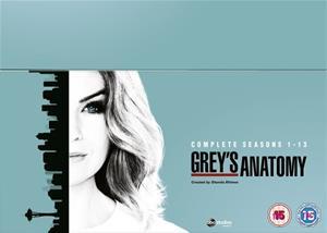 Greyn anatomia (Grey's Anatomy): kaudet 1-13, TV-sarja