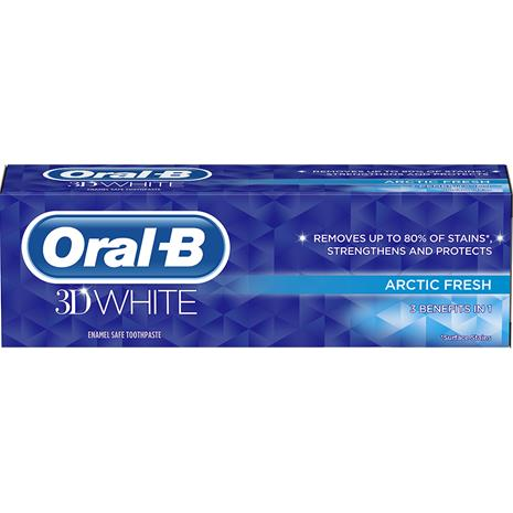 Oral-B 3D White Arctic Fresh 75 ml, hammastahna