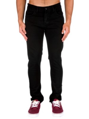 KR3W K Skinny Jeans jet black Miehet