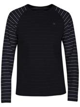 Hurley Serape Crew T-Shirt black Miehet